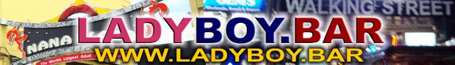 Ladyboys Bar Logo Banner
