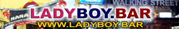 Ladyboy Bar Logo Banner